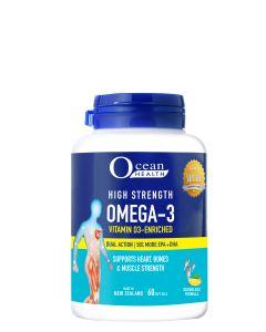 HIGH STRENGTH OMEGA-3 VITAMIN D3-ENRICHED